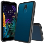 For LG K30 (2019) Scratchproof TPU + Acrylic Protective Case(Black)
