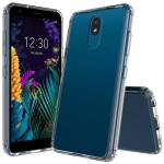 For LG K30 (2019) Scratchproof TPU + Acrylic Protective Case(Transparent)