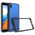 For Xiaomi Redmi 7A Scratchproof TPU + Acrylic Protective Case(Black)