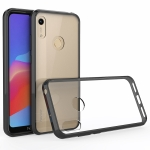 For Huawei Y6s (2019) Scratchproof TPU + Acrylic Protective Case(Black)