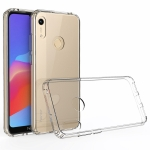 For Huawei Y6s (2019) Scratchproof TPU + Acrylic Protective Case(Transparent)