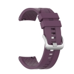 For Huawei GT Silicone Wristband Strap(Purple)