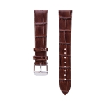For Huawei B5 Bamboo Leather Strap(Coffee)
