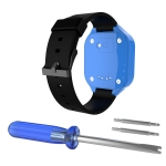 For Huawei Honor K2 Children's Smart Watch Silicone Strap(Black)