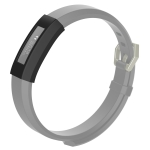 For Fitbit Alta / Alta HR / ACE Full Coverage Silicone Watch Case(Black)