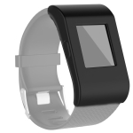 For Fitbit Surge Full Coverage Silicone Watch Case(Black)
