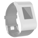For Fitbit Surge Full Coverage Silicone Watch Case(White)