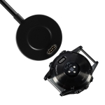 For Garmin Fenix 6 & 6S & 6X Round Charging Base(Black)