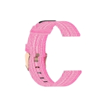 For Galaxy Watch 46mm Nylon Canvas Strap(Pink)