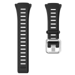 For POLAR Polar FT60 Men's Silicone Watch Strap(Black)
