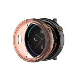 For Amazfit 2 TPU Watch Case(Transparent Orange)