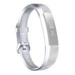 For Fitbit Alta / Alta HR Metal-color Watch Strap Belt Buckle Watchband(Silver)