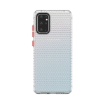 For Galaxy S20+ Honeycomb Shockproof TPU Case(Transparent)