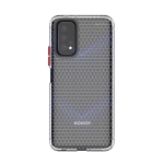 For Huawei Honor V30 Honeycomb Shockproof TPU Case(Transparent)