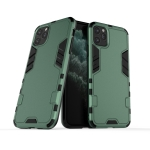 For iPhone 11 Pro Max Steel Bear Simple Style Shockproof PC + TPU Case(Green)