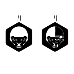 Universal Car Aromatherapy Cologne Hanging Piece(C)