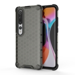 For Xiaomi Mi 10 Pro Shockproof Honeycomb PC + TPU Protective Case(Black)