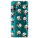 For Xiaomi CC9 Pro Painted TPU Protective Case(Panda)