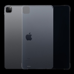For iPad Pro 12.9 inch 2020 0.75mm Shockproof Transparent TPU Protective Case
