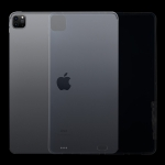 For iPad Pro 12.9 inch 2020 0.75mm HD Transparent TPU Protective Case