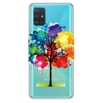 For Galaxy A51 Lucency Painted TPU Protective Case(Tree)