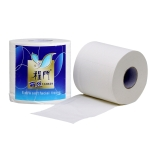 140g 4 Layers Cored Plate Home Roll Toilet Paper Soft Sanitary Paper