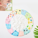 0-3 Years Baby (Girls) Disposable Melt-blown 4-layered Protection PM2.5 Dustproof Face Mask, Random Color Delivery