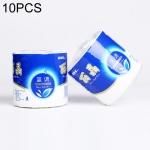 10 Rolls Household Rolls Toilet Paper Sanitary Paper