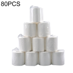 80 Rolls Hotel Sanitary Commercial Toilet Paper Core Roll Paper
