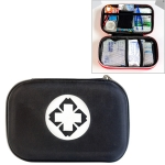 EVA Portable Car Home Outdoor Medical Emergency Supplies Medicine Kit Survival Rescue Box (Black)