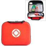 EVA Portable Car Home Outdoor Medical Emergency Supplies Medicine Kit Survival Rescue Box (Red)