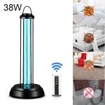 38W Desktop UV Light Lamp Disinfection Anti-virus Sterilization Lamp Bar Strip with Remote Control, 3 Pin CN Plug