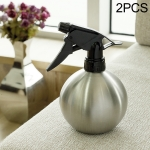 2 PCS Stainless Steel Watering Can Clean Disinfection Spray Bottle