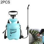 2 PCS Agricultural 3L Spray Pot Manual  Pressure Sprayer Disinfection and Anti-epidemic Tool Sterilization Spray Bottle