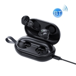 ROCK EB80 Bean TWS Bluetooth 5.0 Wireless Active Noise Cancelling Earphone (Black)