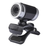 A860 HD Computer USB WebCam with Microphone (Black)
