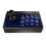Dobe TP4-1886 7 in 1 Game Joystick KOF Fighting Arcade Handle for Nintendo Switch / PS4 / Xbox One (Black)