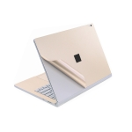 4 in 1 Notebook Shell Protective Film Sticker Set for Microsoft Surface Book 2 15 inch(Gold)