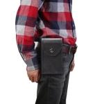 Single Case Multi-functional Universal Mobile Phone Waist Bag For 6.5 Inch or Below Smartphones (Black)