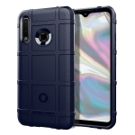 For Galaxy A70e Full Coverage Shockproof TPU Case(Blue)