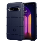 For LG V60 ThinQ Full Coverage Shockproof TPU Case(Blue)