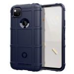 For Google Pixel 4a Full Coverage Shockproof TPU Case(Blue)