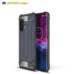 For Motorola Edge Plus Magic Armor TPU + PC Combination Case(Navy Blue)
