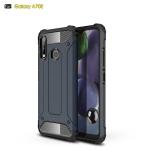 For Galaxy A70e Magic Armor TPU + PC Combination Case(Navy Blue)