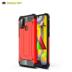 For Galaxy M31 Magic Armor TPU + PC Combination Case(Red)