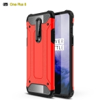 For OnePlus 8 Magic Armor TPU + PC Combination Case(Red)