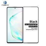 For Galaxy A81 / Note 10 Lite PINWUYO 9H 2.5D Full Screen Tempered Glass Film(Black)