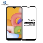 For Galaxy A01 PINWUYO 9H 2.5D Full Screen Tempered Glass Film(Black)