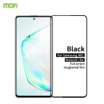 For Galaxy A81 / Note 10 Lite MOFI 9H 2.5D Full Screen Tempered Glass Film(Black)