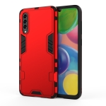 For Galaxy A50 / A50s / A30s 3 in 1 Full Coverage Shockproof PC + TPU Case(Red)